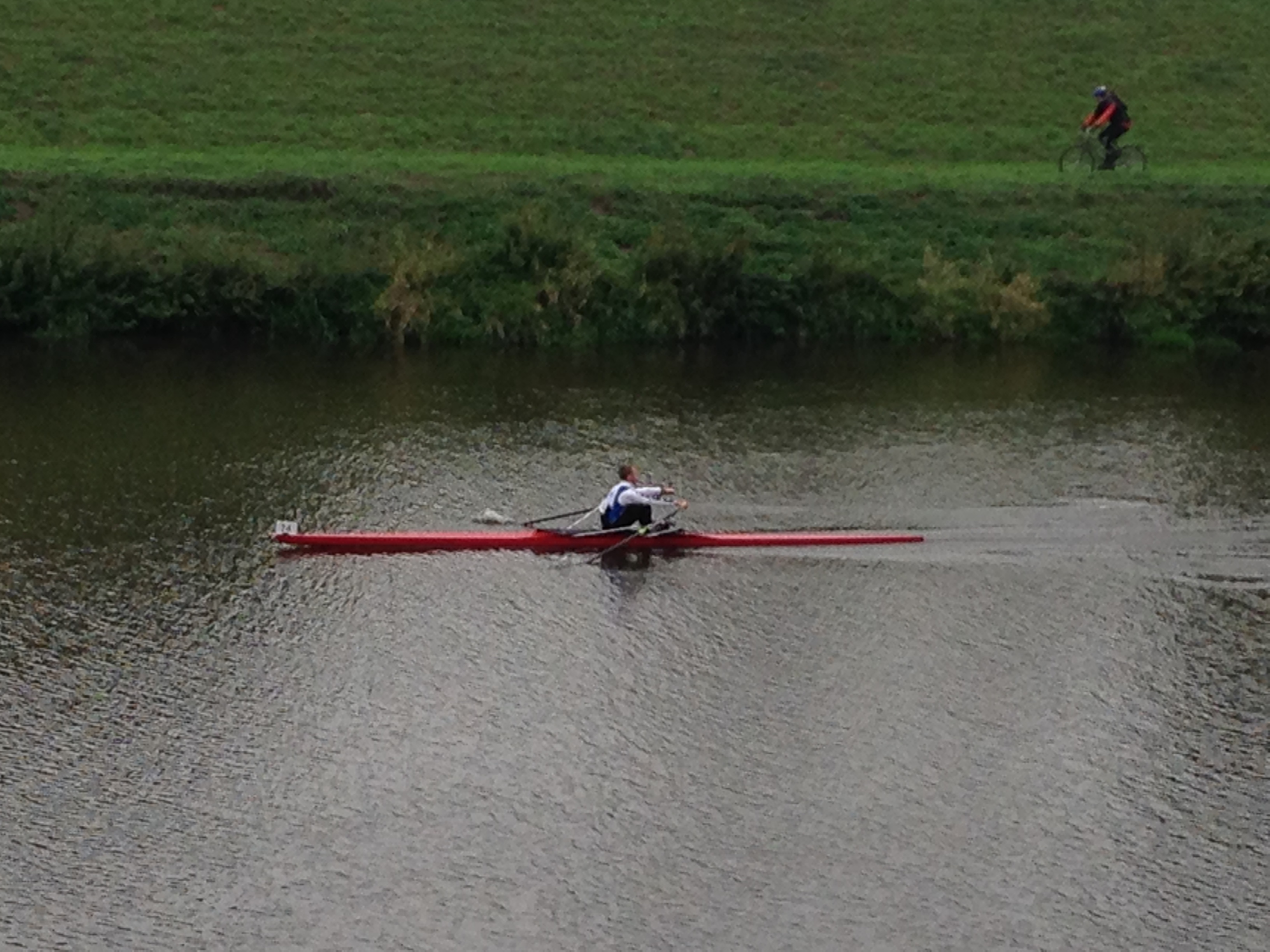 Junior sculler