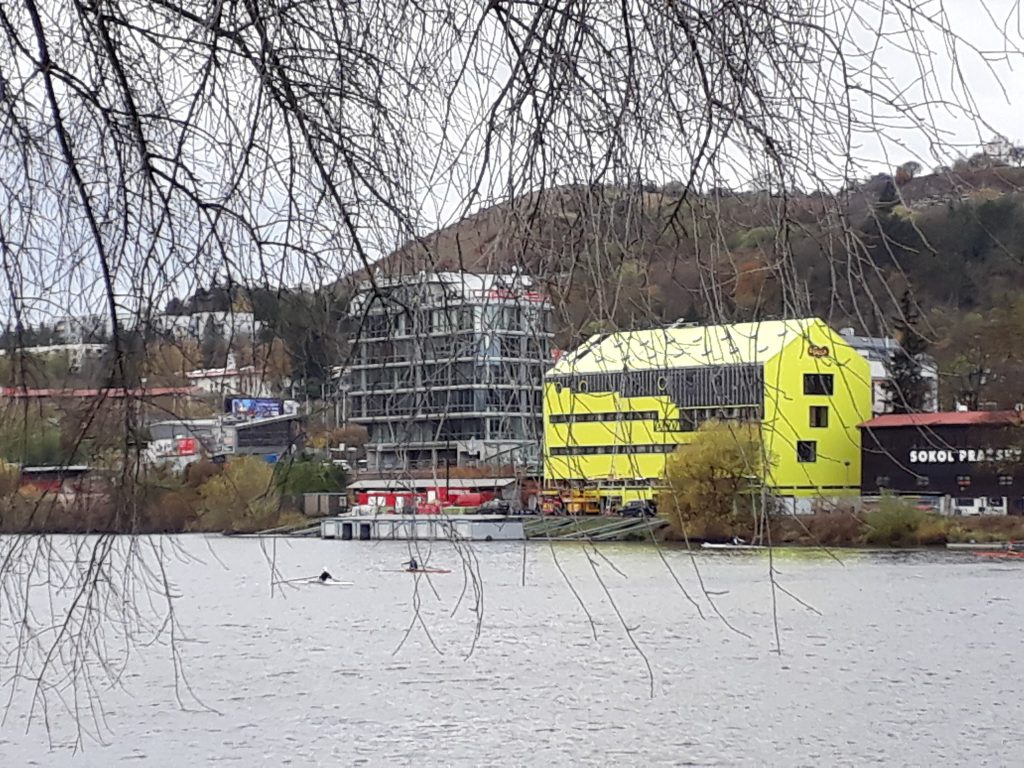 New Yellow Dukla Boat House